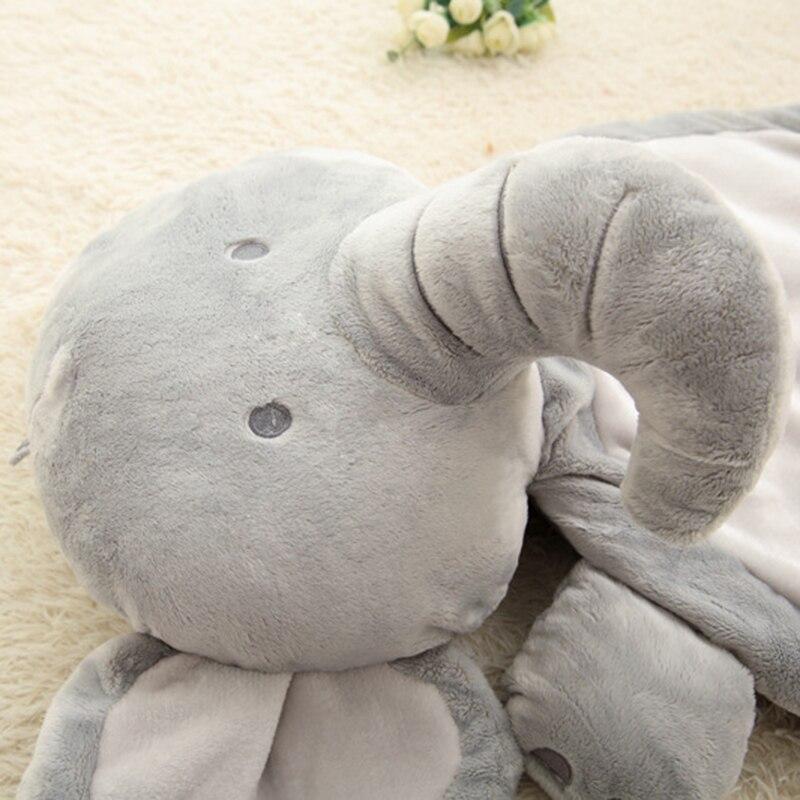 Baby Cartoon Elephant Fox Stuffed Play Mat Animal Toy Shape Sleeping Mat Kids Soft Plush Mattress Cushion Pad P15