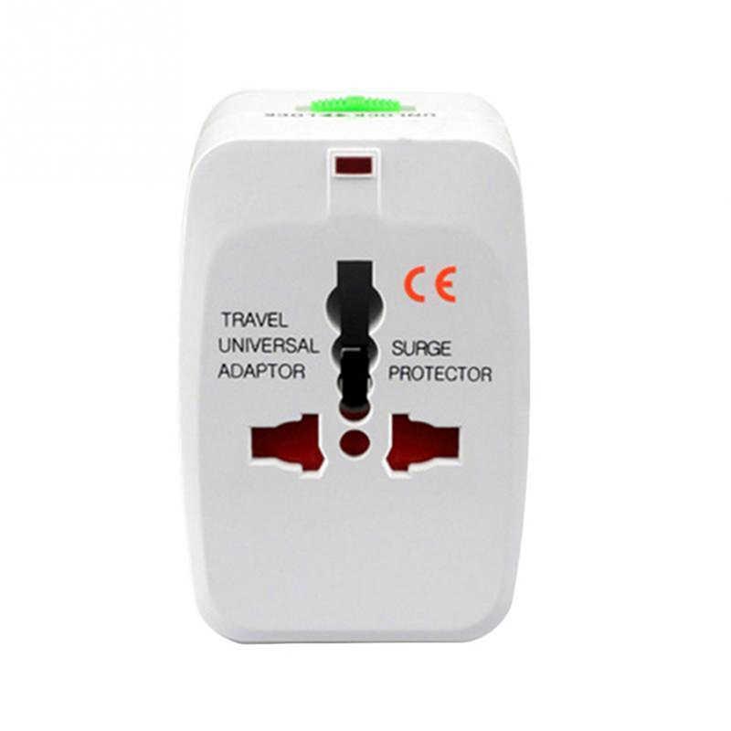Wtyczka elektryczna Adapter do gniazda zasilania podróży międzynarodowych Adapter uniwersalna podróżna ładowarka USB konwerter ue UK AU AU