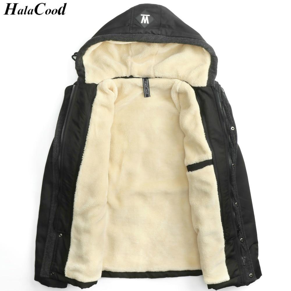 Hot Sell Fashion 2017 Winter Jacket Men New Brand Winter Thick Warm Fleece Zipper Coat Mens Parkas Male European Hoodies Large