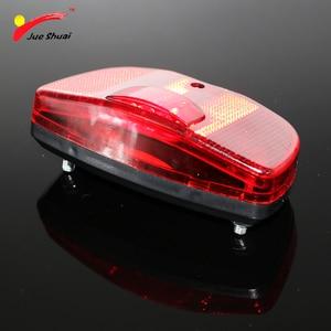 3 светодиода, красный задний светильник для велосипеда, задняя стойка, несущая безопасная сигнальная лампа, батарея, велосипедный светильник, аксессуары для велоспорта