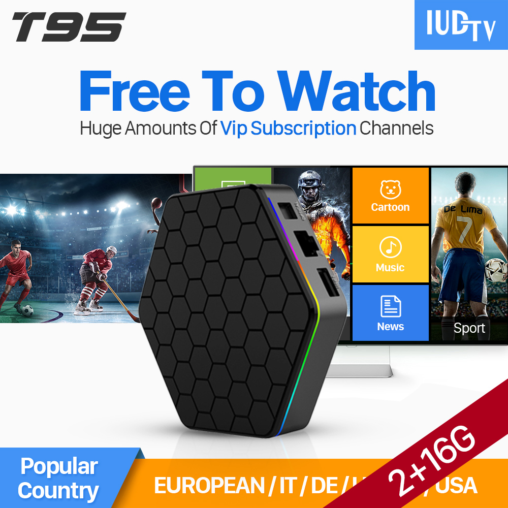 SUPER IPTV Europe French T95Zplus Smart Android 6.0 TV Box 3 6 12 Months IUDTV Code IPTV Subscription Europe Arabic IPTV Top Box x92 android iptv box s912 set top box 700 live arabic iptv europe french iptv subscription 1 year iptv account code