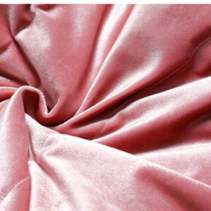 Casual À Hiver Blanc Froid Dames Velours Khaki De Canard pink Or Bas 2018 Le Capuchon Duvet Qualité Femmes Haute Veste Vers Nouvelles Chaud Unw4q0