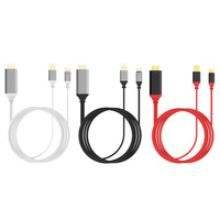 2 M 4 K * 2 K Typu C do HDTV HDMI AV Adapter Kabel USB przewód Z Funkcją DP do Laptopa Tabletki Inteligentnego Telefonu komórkowego TV