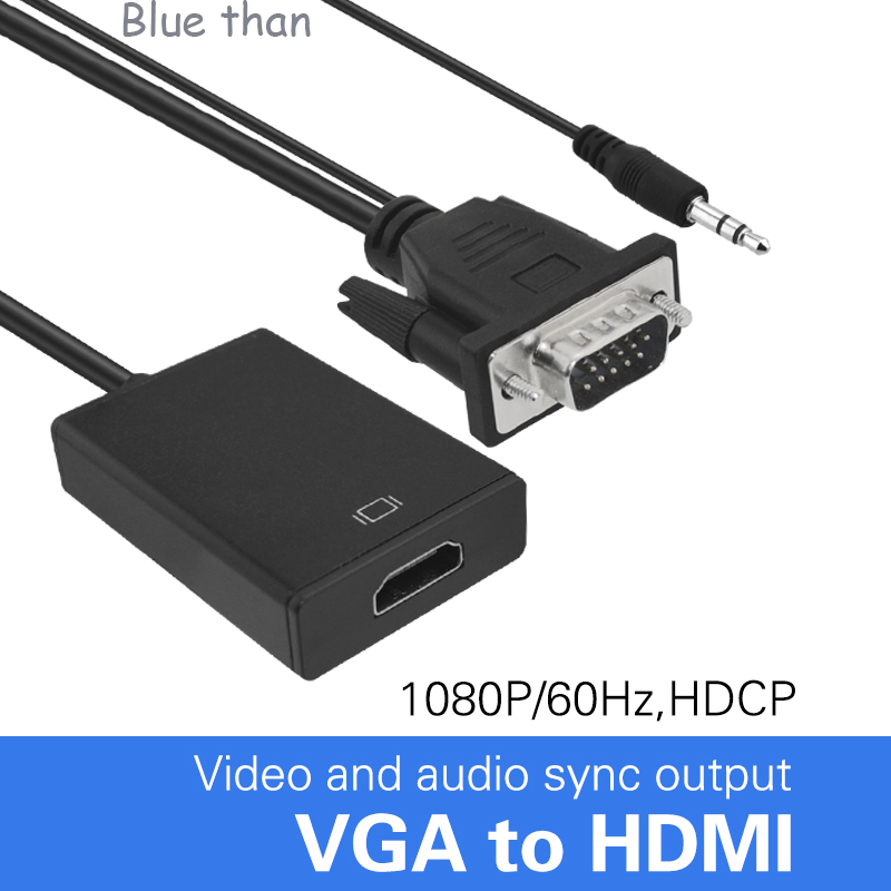 Blue than vga to hdmi converter adapter output 1080p hd - How to add an extra hdmi port to a tv ...