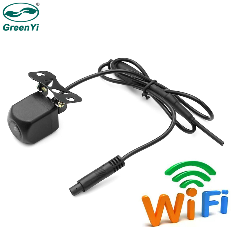 GreenYi New Tech Mini WiFi Car Back Up Camera Waterproof Rear View Camera Easy Installation Convenient to Use