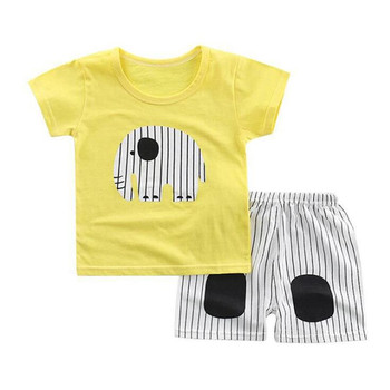 Baby Boy Clothes Summer Newborn Baby Boys Clothes Set Cotton Baby Clothing Suit Plaid Infant Clothes Set Shirt+Pants Baby Clothing Sets