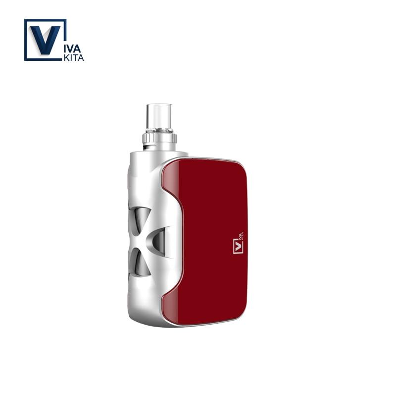 Elektronische zigarette Starter-kit Fusion 1500 mah verdampfer 50 watt vape mod kit 2 ml mod batterie dampf 0.25ohm spule kopf Dropshipping