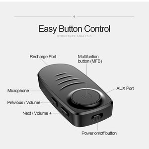 Image 5 - Rovtop 3.5mm Jack AUX Bluetooth 5.0 Stereo Audio Music Receiver Wireless Adapter Car Bluetooth Kit For TV PC Headphone Z2