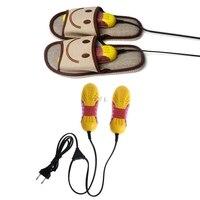 220V 10W האיחוד האירופי Plug מירוץ רכב צורת אור Voilet נעל מייבש ריח דאודורנט דוד-בארגוניות ומדפי נעליים מתוך בית וגן באתר