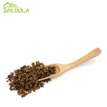 30pcs/lot Beech Wood Tea Spoon Wooden Coffee Beens Scoop Tea Tools 15cm