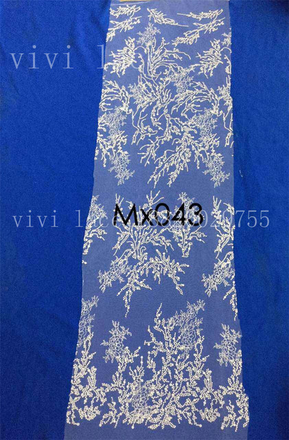 mx043 fashion offwhite floral classic embroidery tulle mesh lace for  wedding evening dress party c5d476a22993