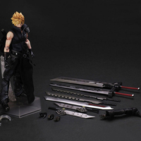 Wholesale PA Figures Cloud Strife Movie Dolls PA Model Action Figures Collectible Model Toys 28cm