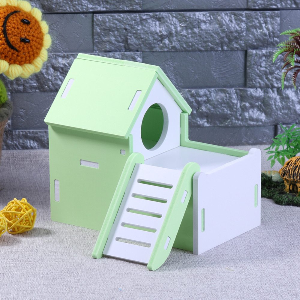 Loft Bed Kopen.Beste Kopen Leuke Hamster Huis Houten Nest Loft Bed Kooi