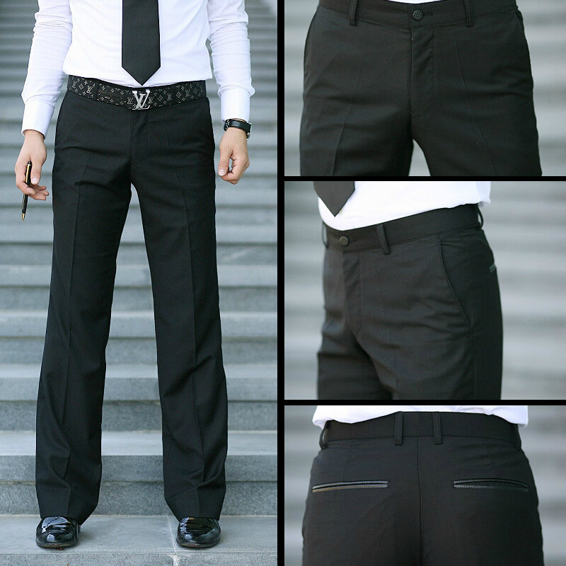 Aliexpress.com : Buy New Summer Style Mens Silk Suit Pants
