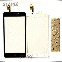 Сиринкс с 3m ленты мобильный телефон панель со стеклом и сенсорным экраном дигитайзер для Мобильные принадлежности 5525 практик BQ 5525 сенсорный экран