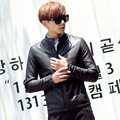 Men's Leather Jacket Men jaqueta Masculina Veste Homme Chaqueta Hombre Tops Fashion Coats Leather Jackets korean style