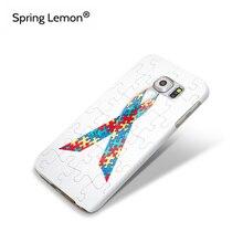 Spring Lemon Царапинам Защитите Жесткий Case Головоломки Аутизм Осведомленности Обложка Для Samsung Galaxy S5 S4 S3