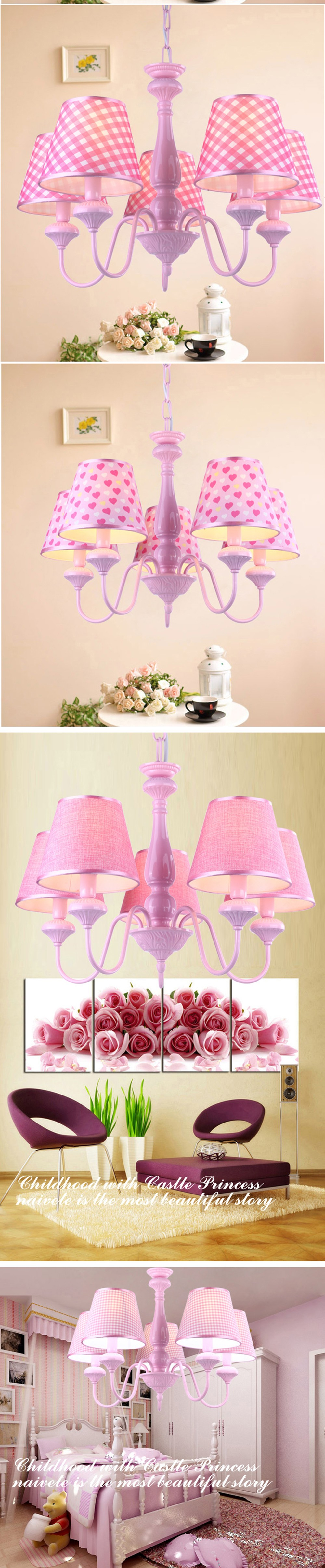 Children s book room chandelier bedroom chandelier child girl pink