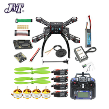 JMT Full Kit DIY GPS Drone RC Fiberglass Frame Multicopter FPV APM2 8 1400KV Motor 30A