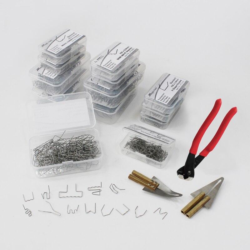 Горячий Степлер пластиковый сварочный провод автомобильный бампер ремонтные инструменты Нержавеющая сталь скобы Замена сварщика пистоле
