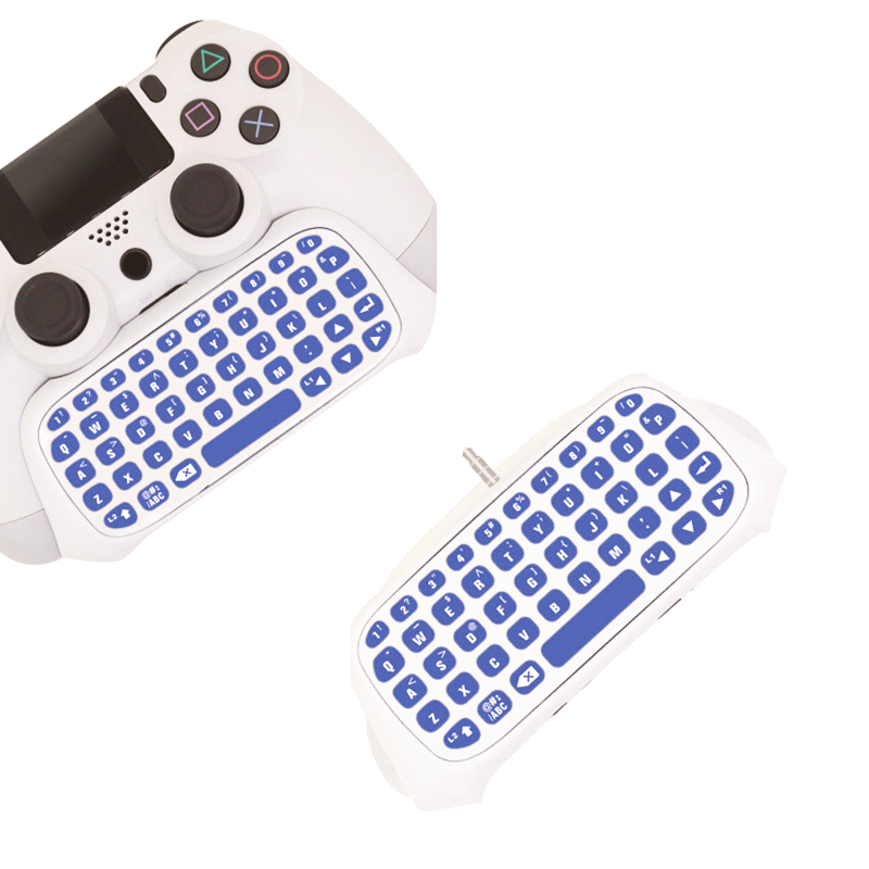 Mini Bluetooth 3.0 Wireless 10M Distance Chatpad Message Keyboard for PS4 Game Consoles for Sony Playstation 4 PS4 Controller