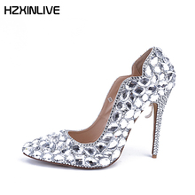 Buy designer bridal shoe and get free shipping on AliExpress.com dd4c57e4f4a8