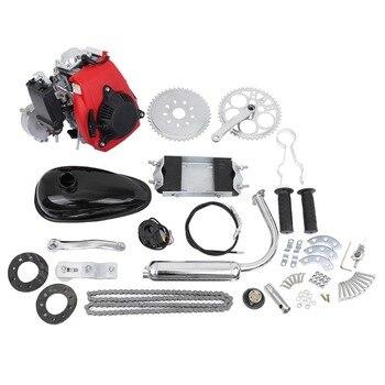 (Envío desde la UE) Kit de Motor de bicicleta de 4 tiempos 49cc, Motor de gasolina, Moto motorizada, kit de Motor de Scooter de gasolina
