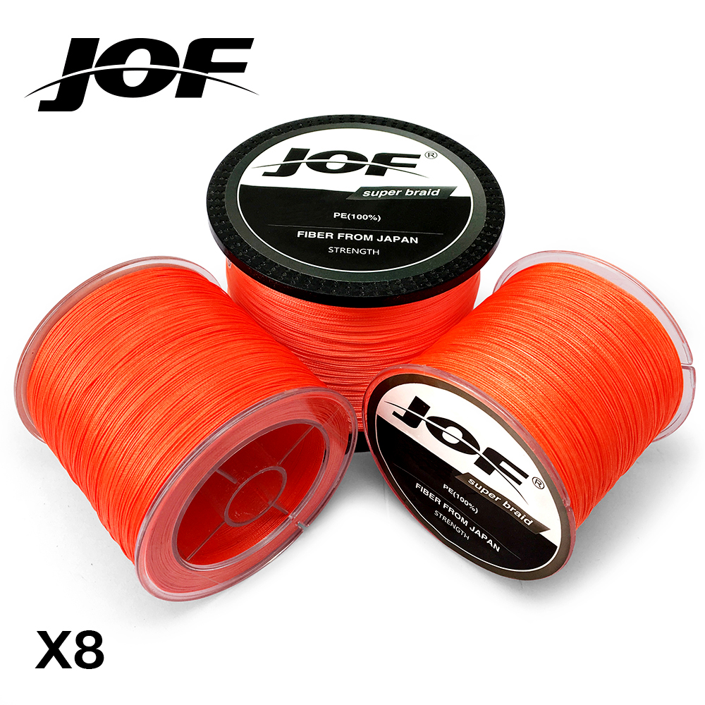 8 Strands 100M 150M 300M 500M 1000M Orange Braided Fishing Line Sea Saltwater Carp Fishing Weave Extreme 100% PE JOF natura siberica лифтинг крем для кожи вокруг глаз орлиный взгляд объем 30 мл