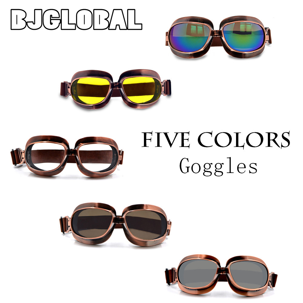 8a272e7b5d BJGLOBAL 2018 High Quality Retro Motorcycle Helmet Glasses Goggles Eyewear  Goggles Gafas Motocicleta Lunette Moto Motocross-in Glasses from  Automobiles ...