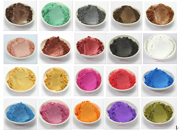 15-Color Pigments Shimmer Mica Powder - DIY Soap Making, Candle ...