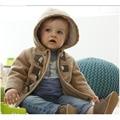2017 Nueva Moda niños Bebés Prendas de Abrigo Moda Niños Chaquetas para Niño Chaqueta de Invierno Cálido Con Capucha Niños Ropa YY0555