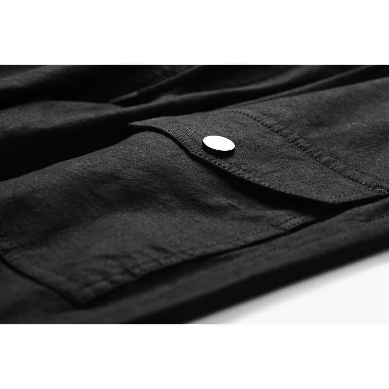 Enjeolon брендовые весенне-летние длинные брюки мужские прямые повседневные брюки мужские однотонные брюки мужские большие размеры K6274