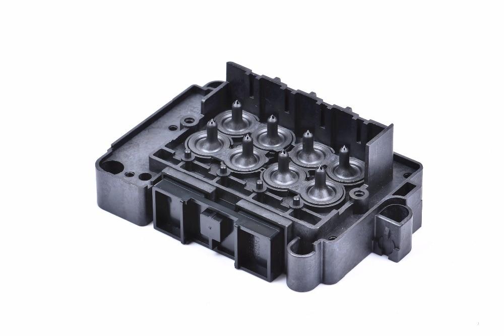 Impresora Eco solvente DX7 impresión cubierta de la cabeza para Epson 189010, 189000, 196000, 196010 DX7 colector disolvente adaptador