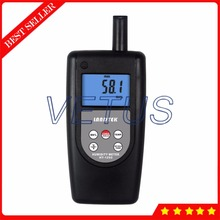 Buy online HT-1292 Backlit LCD Wet Bulb Thermometer with digital temperature humidity meter handheld thermo-hygrometer