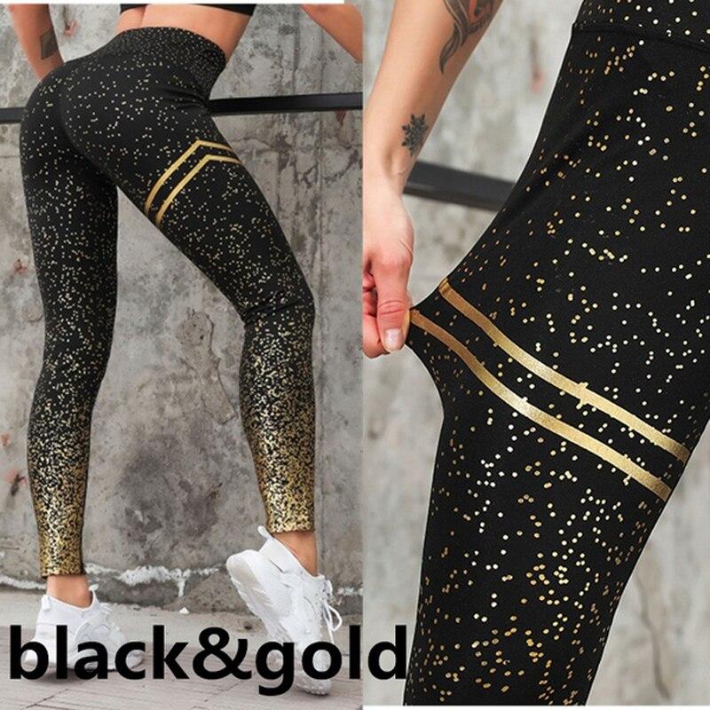 Gym yoga calças esportes wear para as mulheres profissional correndo fitness esporte leggings push up calças impressas