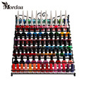 2017 Metal Heart Nail Polish Display Rack Jewelry Organizer Stand Holder Makeup Storage Holder 8Tier