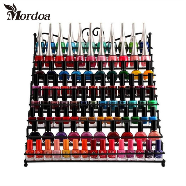 Aliexpresscom Buy 2017 Metal Heart Nail Polish Display Rack