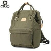 Ozuko Double Using Women Mummy Handbag Laptop Men Women School Bags for Teenagers Boys Girls Travel Shoulder Bags 26*17*40cm