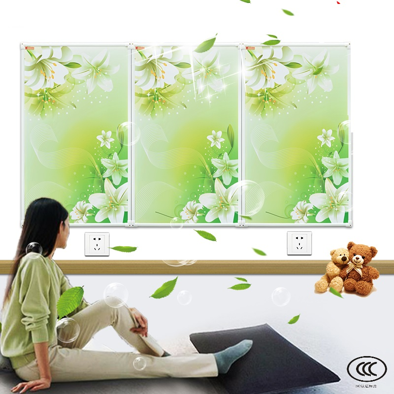 цены MYP5-BH,5PCS/lot,60*100cm,Free shipping,wall mount crystal,warm wall with picture,Infrared heater,carbon crystal heater