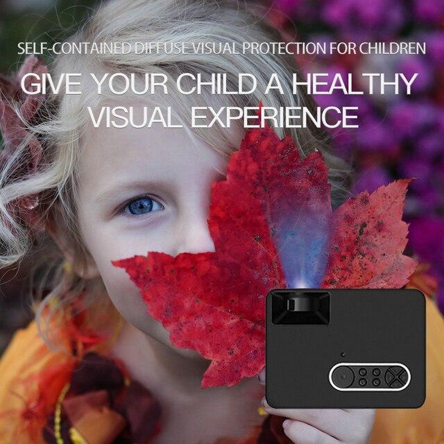 Salange S300 Pico Projector 500 lumen 3.5mm Audio 320x240 Pixels HDMI USB Mini Projector Home Media Player 3