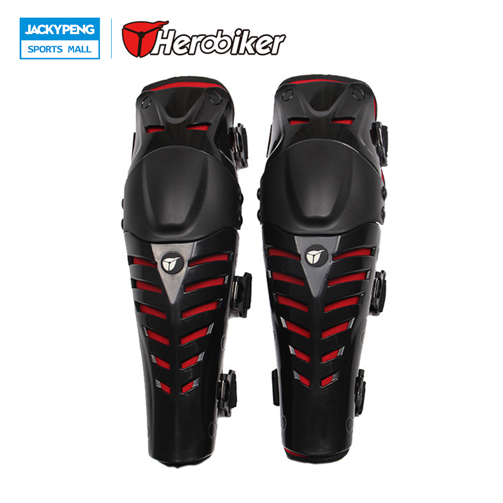 2017 HEROBOKER Motorcycle Racing Knee Motocross Knee Pads Protector Guards Protective Ge ...