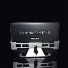 Алюминий сплав Anti Theft дисплей для ноутбука стенд с безопасности замок и ключ 13-19 дюймовый ноутбук держатель кронштейн Tablet PC держатель