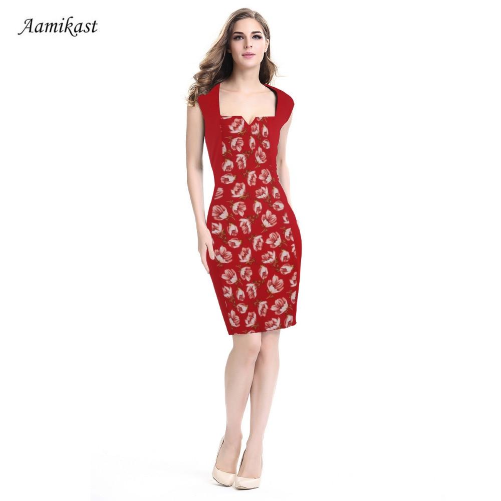 Ženske haljine Ljetni kvadratni ovratnik patchwork Flora Retro - Ženska odjeća - Foto 3
