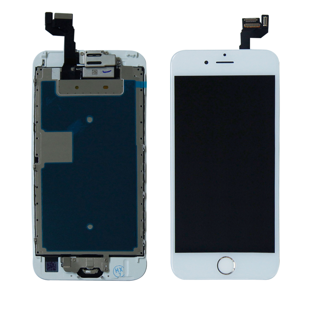 KUERT LCD 4.7 Inch For iPhone 6S LCD Display Screen Digitizer Touch Panel Glass Sensor Assembly with Frame No Dead Pixel image