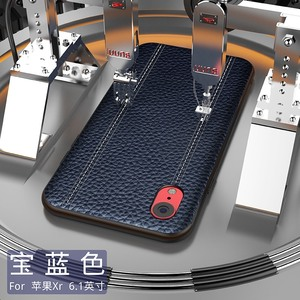 Image 4 - Genuine Leather Luxury Case For IPHONE XS MAX XS X XR Cowhide Full Protective Cover Support adsorption magnet