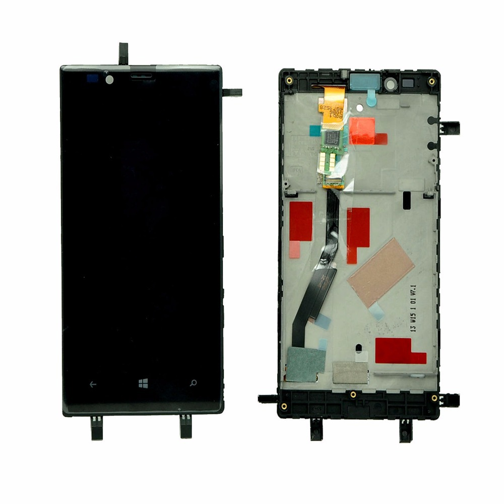 ФОТО Black LCD Display Digitizer Touch Screen Assembly+Frame For Nokia Lumia 720 Replacement High Quality