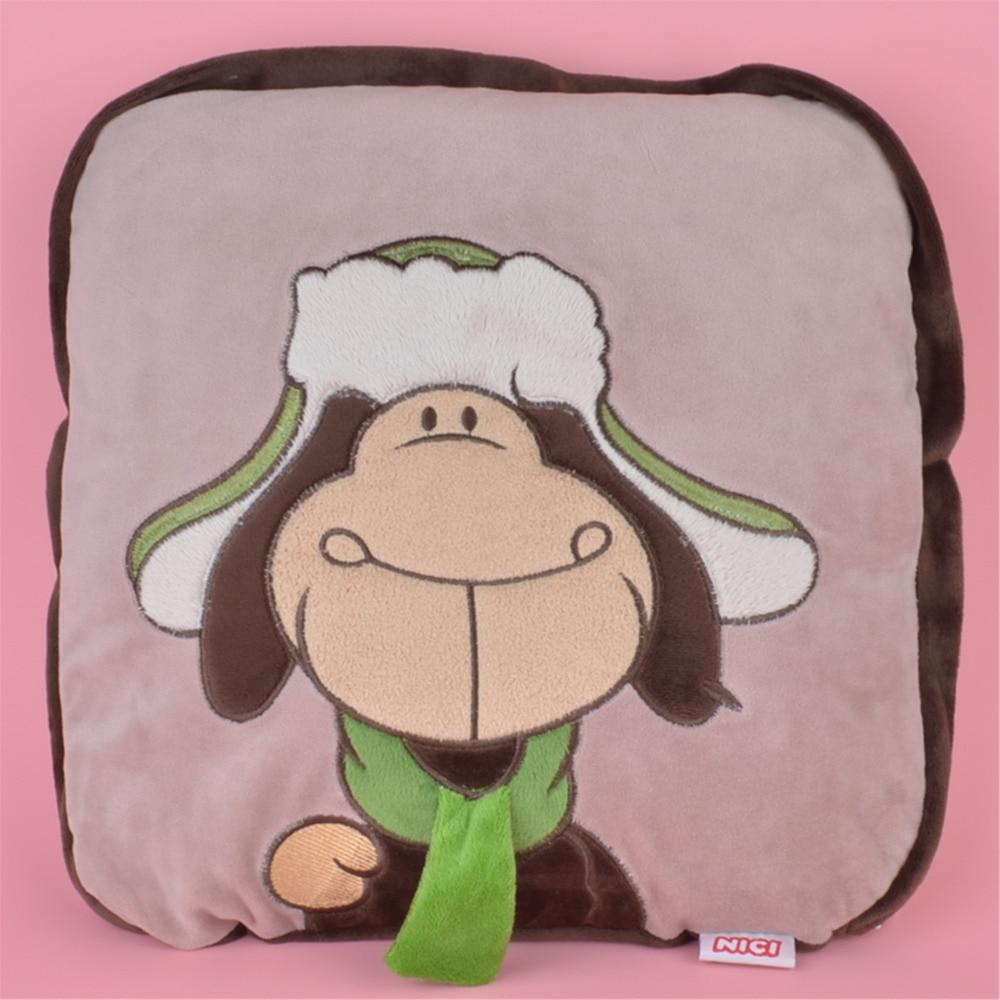⓪2 W 1 Wielofunkcyjny Kapelusz Owiec Pluszowe Poduszki