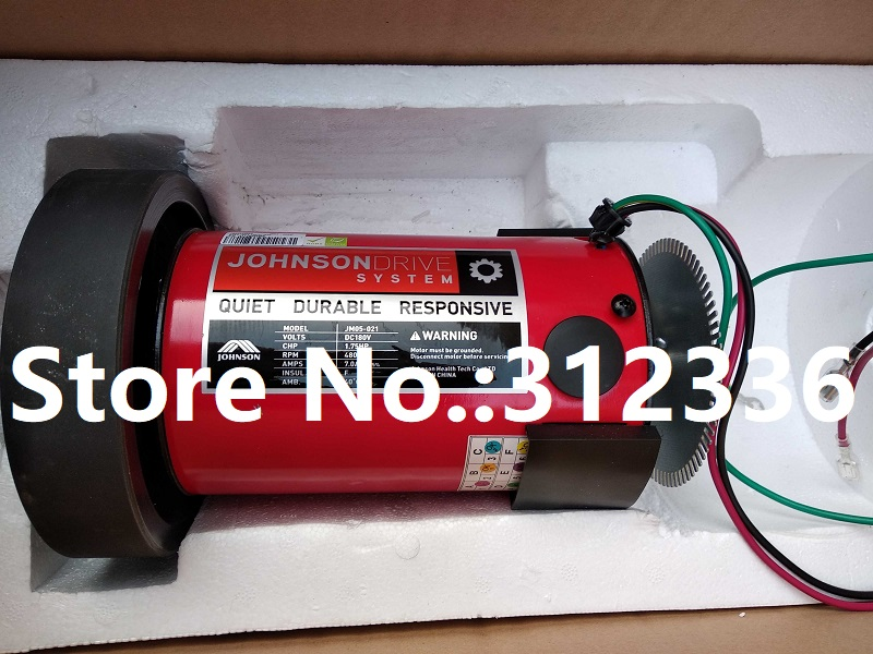 Fast Shipping JM05-021 Johnson 1.75HP DC motor for treadmill fast shipping jm15 004 1 5hp dc motor for treadmill