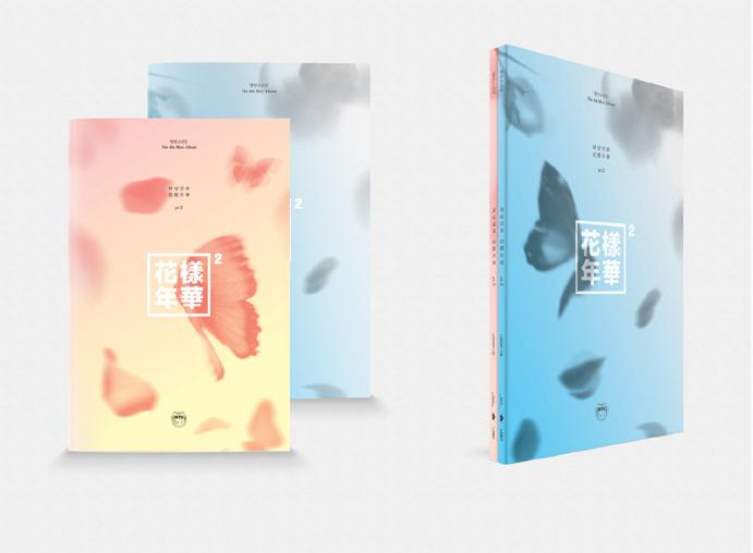Blue/Peach BTS - The Most Beautiful Moment in Life pt.2 (4th mini album)