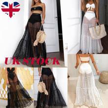 Британская Женская длинная фатиновая юбка пачка в винтажном